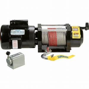 Superwinch 110  240 Volt Ac Powered Electric Winch  U2014 2000