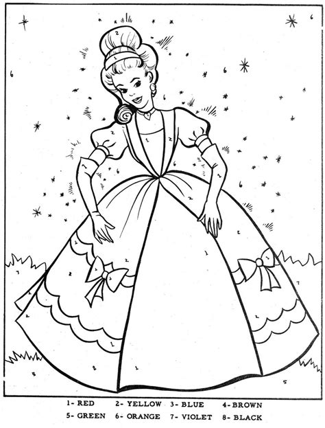 color by number books color by number cinderella coloring cinderella