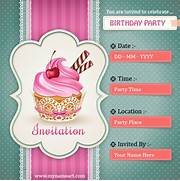 Create Birthday Party Invitations Card Online Free Printable Birthday Invitations So Pretty Invitations And Party Invitation Card Free Party Invitation Card Templates 302 Found