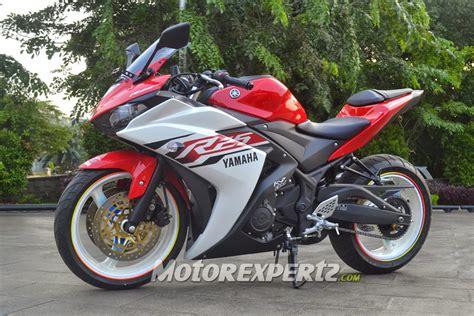 Modifikasi R25 by Modifikasi Yamaha R25 2014 Model Ban Gambot Keren Terbaru