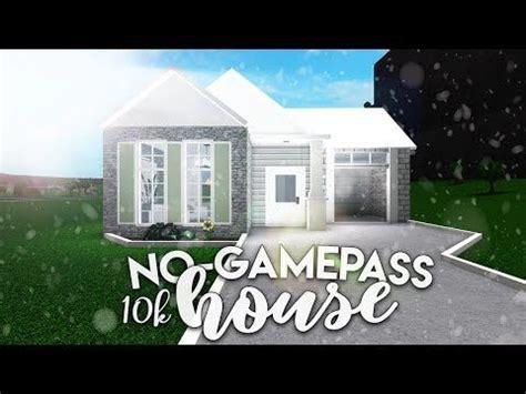 roblox bloxburg   gamepass house house build