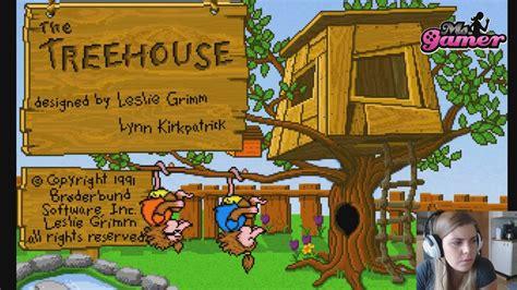 The Treehouse ~ Brøderbund Software Pc 1991 ~ Game Play In