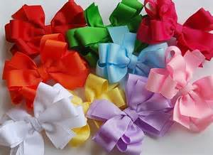 Cute Christmas Hair Bows for Girls