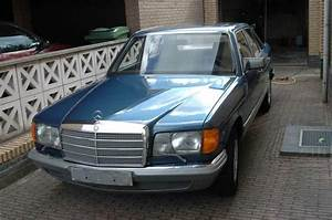 Garage Mercedes 95 : blue head 1981 mercedes benz 380se garage entry ~ Gottalentnigeria.com Avis de Voitures