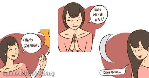 ucapan selamat pagi selamat siang  selamat malam  bahasa jepang bahasa jepang