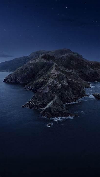 Catalina Night Wwdc Macos 5k Mountains Os