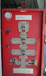 Blowout Preventer Koomey Control Panel