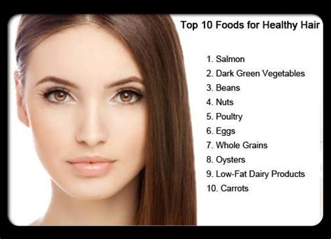 Hair Tips by These Are The Best Foods To Make Your Hair Look Healthy