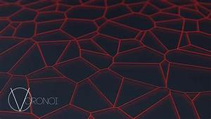 Voronoi Diagram  Abstract  Minimalism  Blender  Network Wallpapers Hd    Desktop And Mobile
