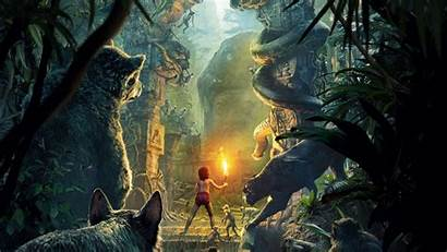 Jungle Forest Ancient Torch Monkeys Wallpapers Movies