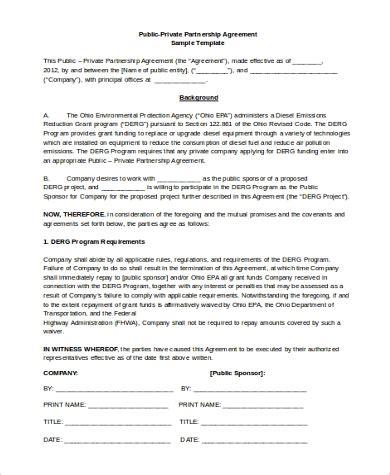 partnership agreement samples  ms word