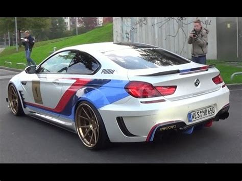 bmw m6 modified modified bmw m6 f13 by prior design loud tunnel