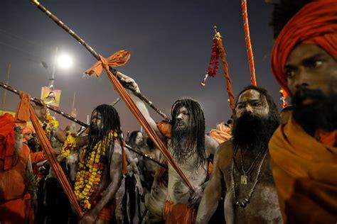 Reclusive Naga Sadhus A Huge Draw At Kumbh Mela News