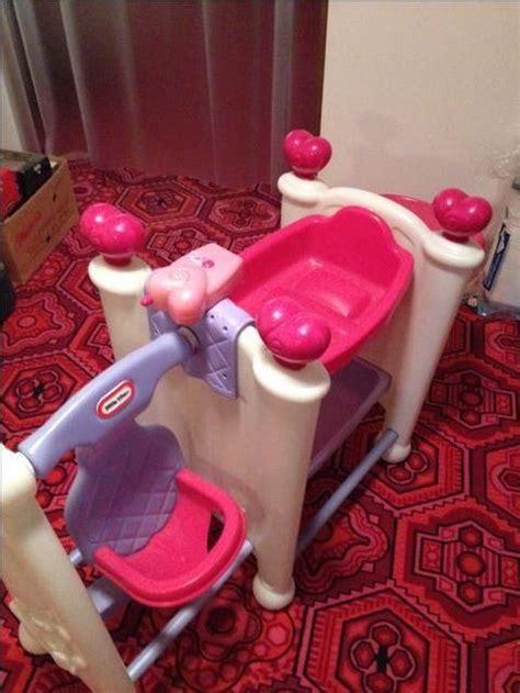 little tikes doll bed swing highchair nex tech classifieds