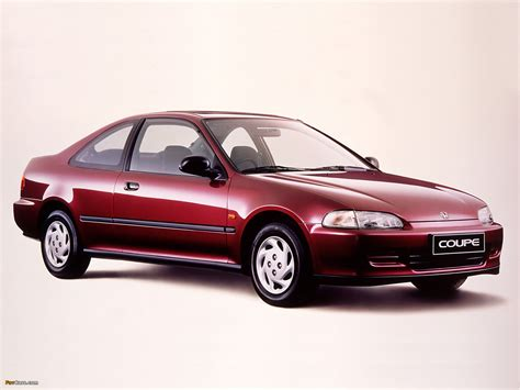 Honda Civic Coupe (ej1) 199395 Photos (1600x1200