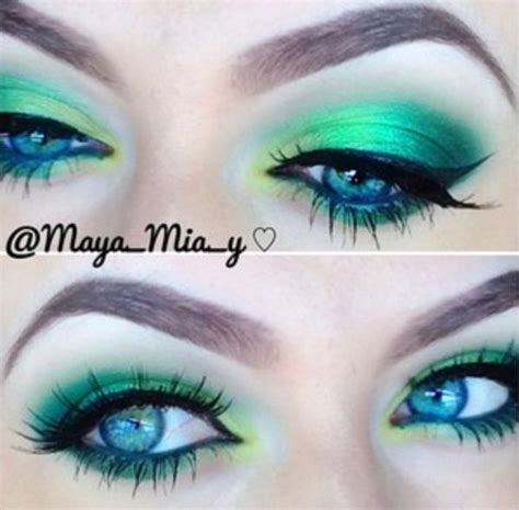 gorgeous makeup ideas  green eyes