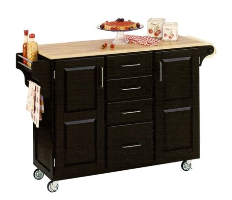 kitchen island cutting board rollable kitchen cart or kitchen island from home styles 5033