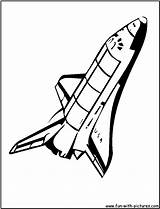 Coloring Shuttle Space Nasa Spaceship Drawing Cartoon Pages Clipart Drawings Printable Fun Transportation Getdrawings Crafts Logos sketch template