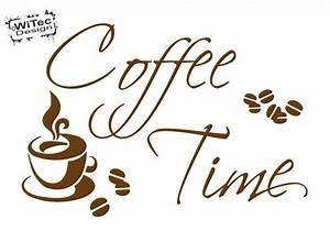 Wandtattoo Küche Bilder : wandtattoo kaffee coffee time wandaufkleber k che ~ Markanthonyermac.com Haus und Dekorationen