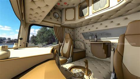 Interni Scania R - scania r 3d v1 0 truck simulator 2 mods