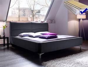 Bett Mit Matratze 160x200 : polsterbett cloude bett 160x200 cm anthrazit mit lattenrost matratze wohnbereiche schlafzimmer ~ Indierocktalk.com Haus und Dekorationen