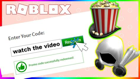 roblox bloxy awards promo code  working