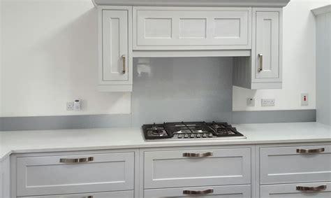 Glass   Metallic Painted Kitchen Glass Upstands   DIY