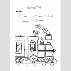 Shapes And Colours Worksheet  Free Esl Printable Worksheets Made By Teachers