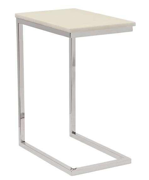 pull up side table ivory marble pull up table bernhardt