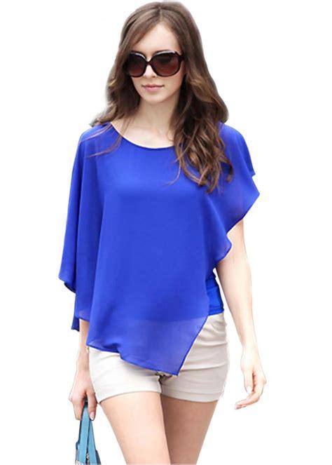 s sheer blouses casual blouses 2015 summer chiffon sleeve