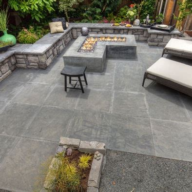 Backyard Cement Ideas by 17 Best Images About Patio On Patio Ideas