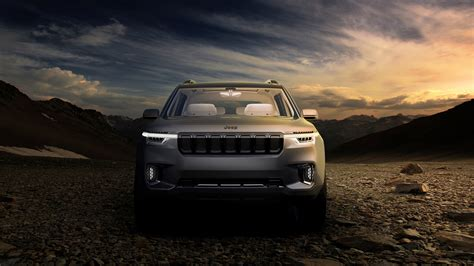 Jeep 4k Wallpapers by Jeep Yuntu Concept 4k Wallpaper Hd Car Wallpapers Id 7745