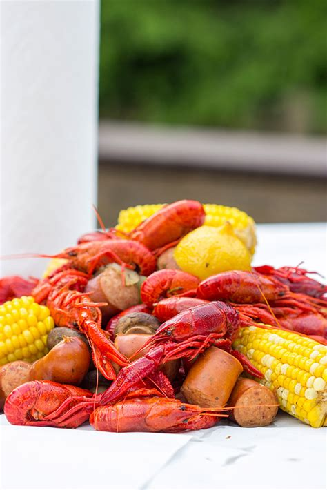cajun crawfish boil