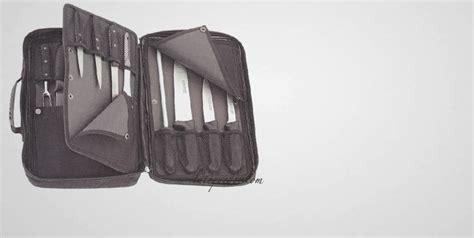 pochette pour couteaux de cuisine grande trousse vide pour couteaux mallette et trousse de