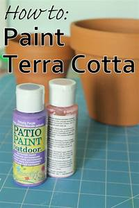 DecoArt Blog - Crafts - How to Paint on Terra Cotta