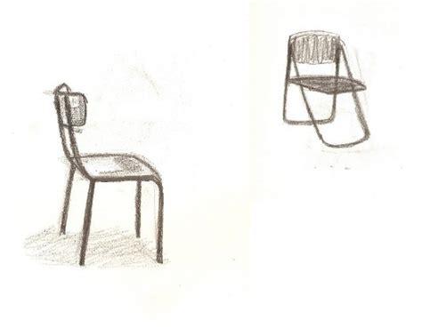 comment dessiner une chaise atelier volume la chaise dales marjory esaaix