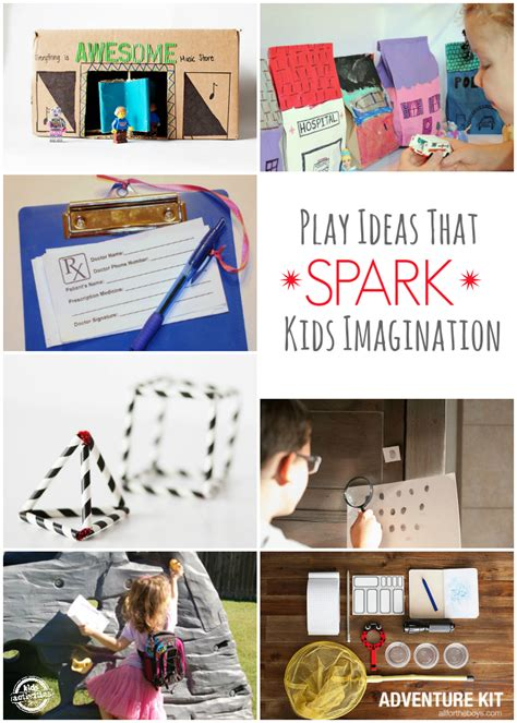 10 Play Ideas To Spark Your Kids Imagination  Kids Activities
