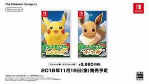 Pokemon Let39s Go Pikachu And Pokemon Let39s Go Eevee