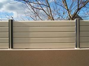 Cloture En Pvc : cloture de terrasse en pvc id es de ~ Premium-room.com Idées de Décoration