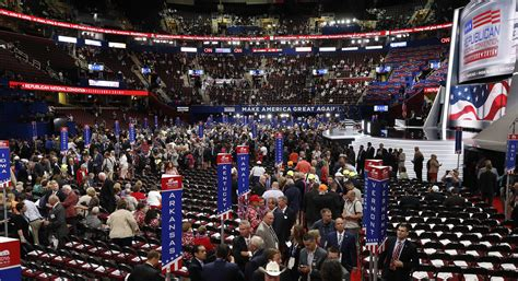 republican national convention  underway  cleveland