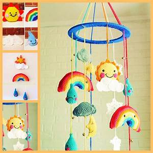Mobile Baby Diy : adorable diy baby mobiles made from upcycled materials ~ Buech-reservation.com Haus und Dekorationen