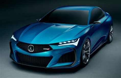 acura type  kembali tlx type  concept didedah
