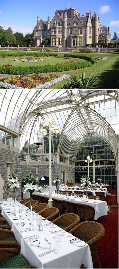 grand wedding venues tortworth court  pillars