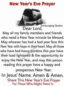 New Year's ... New Year Pray Quotes