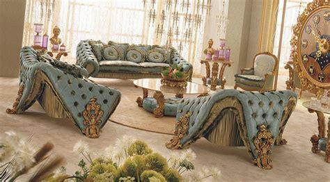 gold carving sofa settop   italian classic furniture