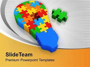 0413 3d Jigsaw Puzzles For Business Solution Powerpoint