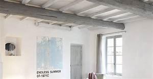 commentaire peindre un plafond avec des poutres 13 With peindre des poutres au plafond