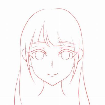 Draw Head Anime Tutorial Guideline Face Drawing