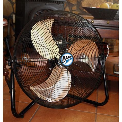 20 inch floor fan amazon com maxxair hvff 20 ups high velocity 20 inch