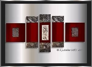Acrylbilder Für Schlafzimmer : mk1 art bild leinwand abstrakt gem lde acryl kunst wandbild bilder xxl rot ebay ~ Sanjose-hotels-ca.com Haus und Dekorationen